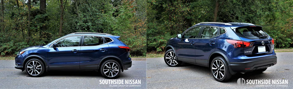 qashqai sl - side and back