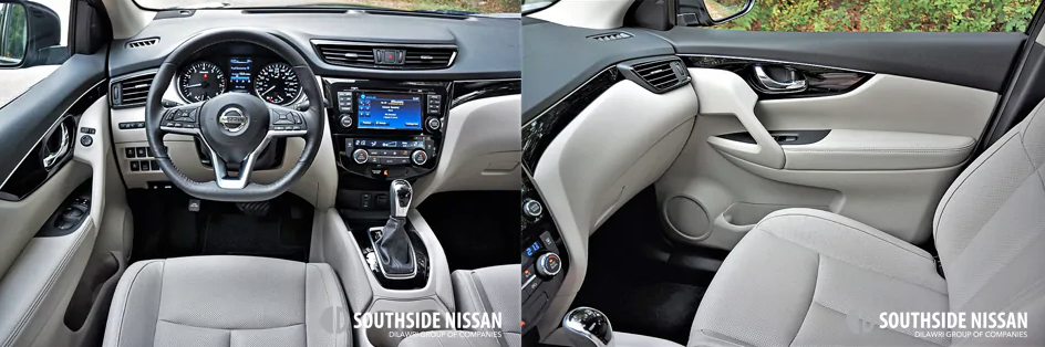 qashqai sl - dashboard and passenger side