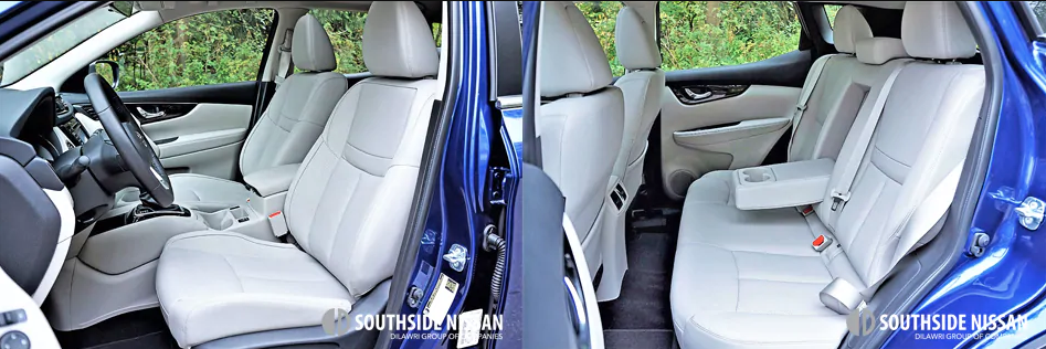 qashqai sl - front and back seating