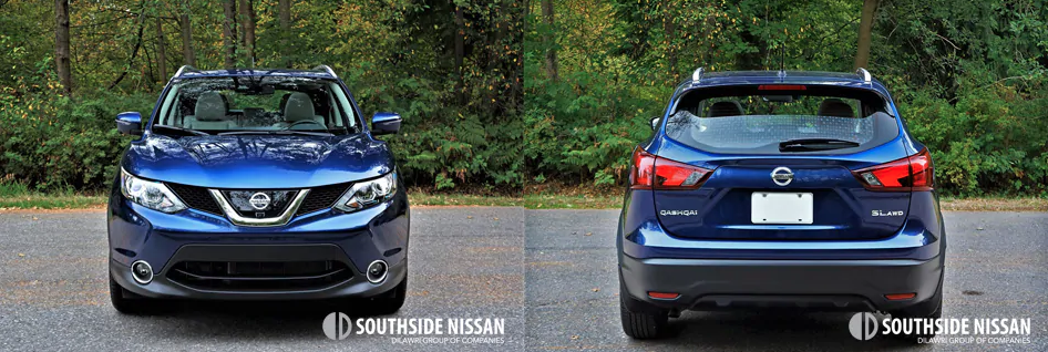 qashqai sl - front and back