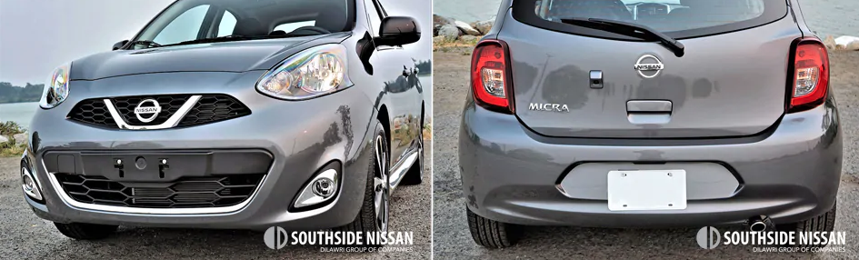 micra sr -bottom back and front