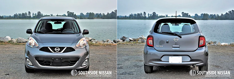 micra sr - front and back