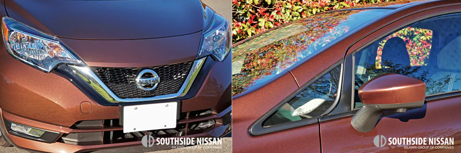 versa note sl - mirror and bumper