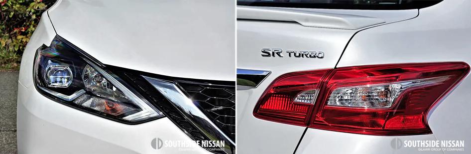 sentra sr turbo - headlights