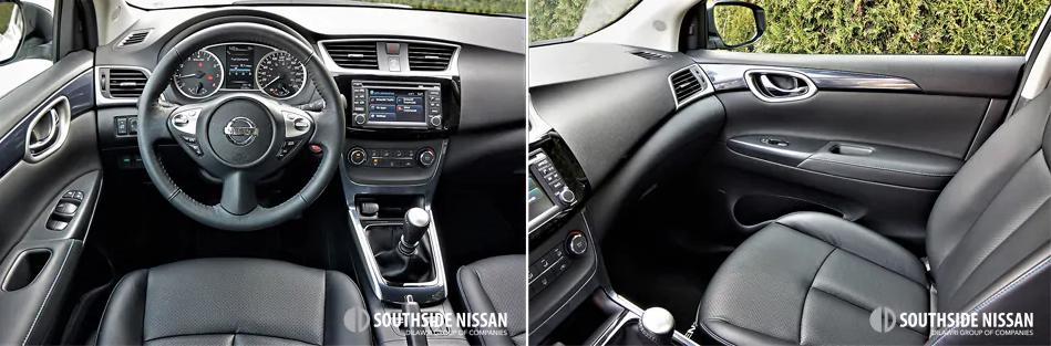 sentra sr turbo - dashboard and passenger side