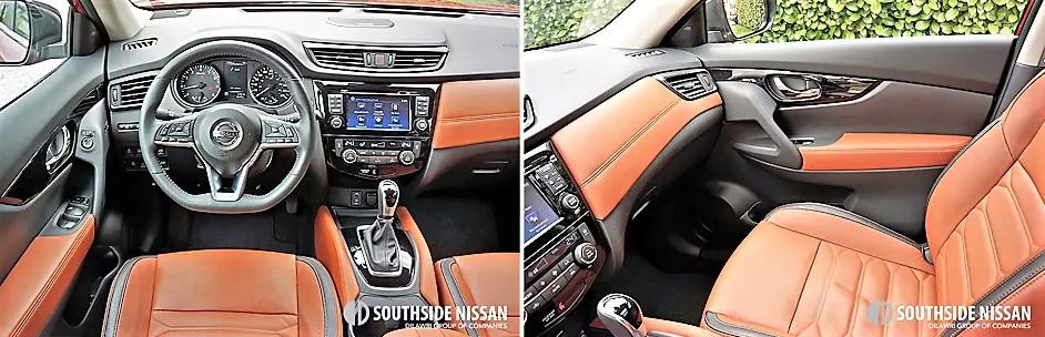 rogue sl platinum - dashboard and passenger