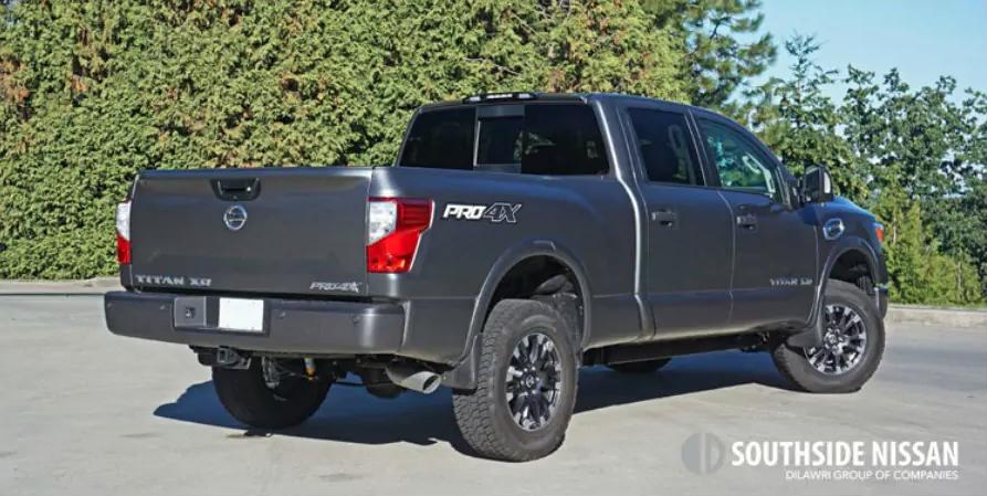titan pro-4x diesel - back