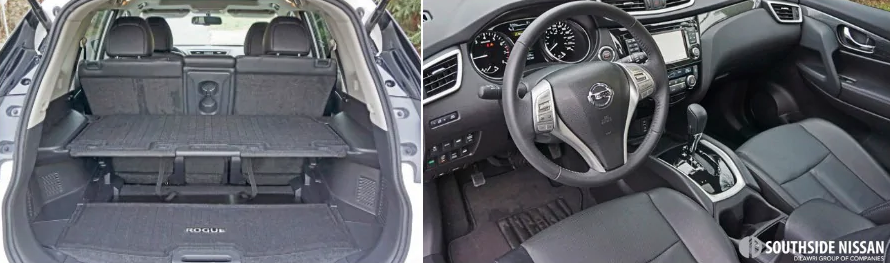 rogue sl premium - trunk and wheel