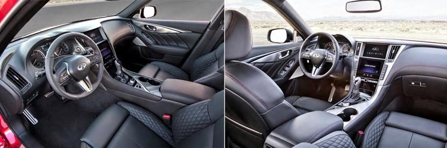 2018 Infiniti Q50 - interior