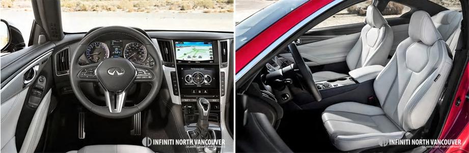 Infiniti Q60 - interior details