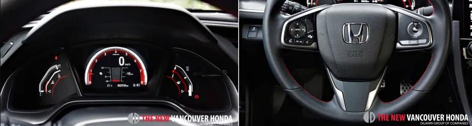 Civic Sedan si - drivers console