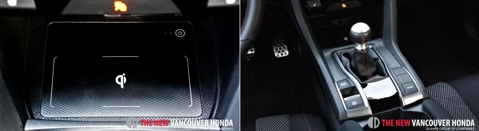 Civic Sedan si - center/middle console