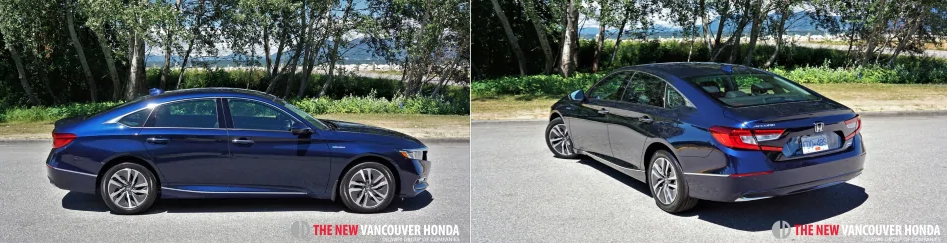 accord hybrid -  side and back