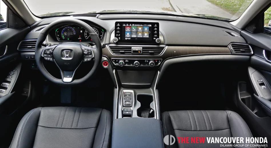 accord hybrid - dashboard