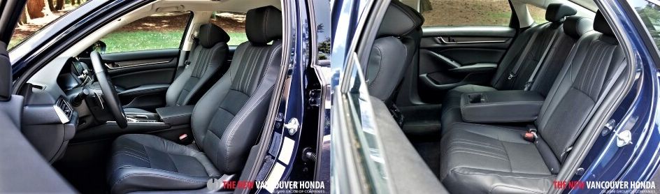 accord hybrid - seating