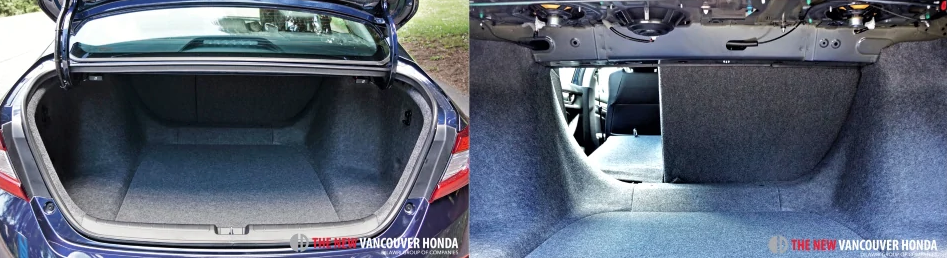 accord hybrid - trunk storage