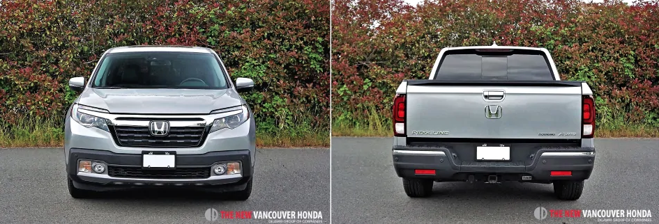 ridgeline touring - front and back