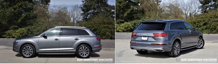 Audi Downtown Vancouver | 2018 Audi Q7 3 0 TFSI Quattro Road