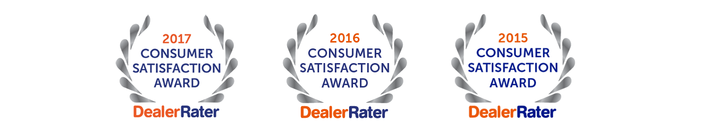 Dealer rater award for Erin park