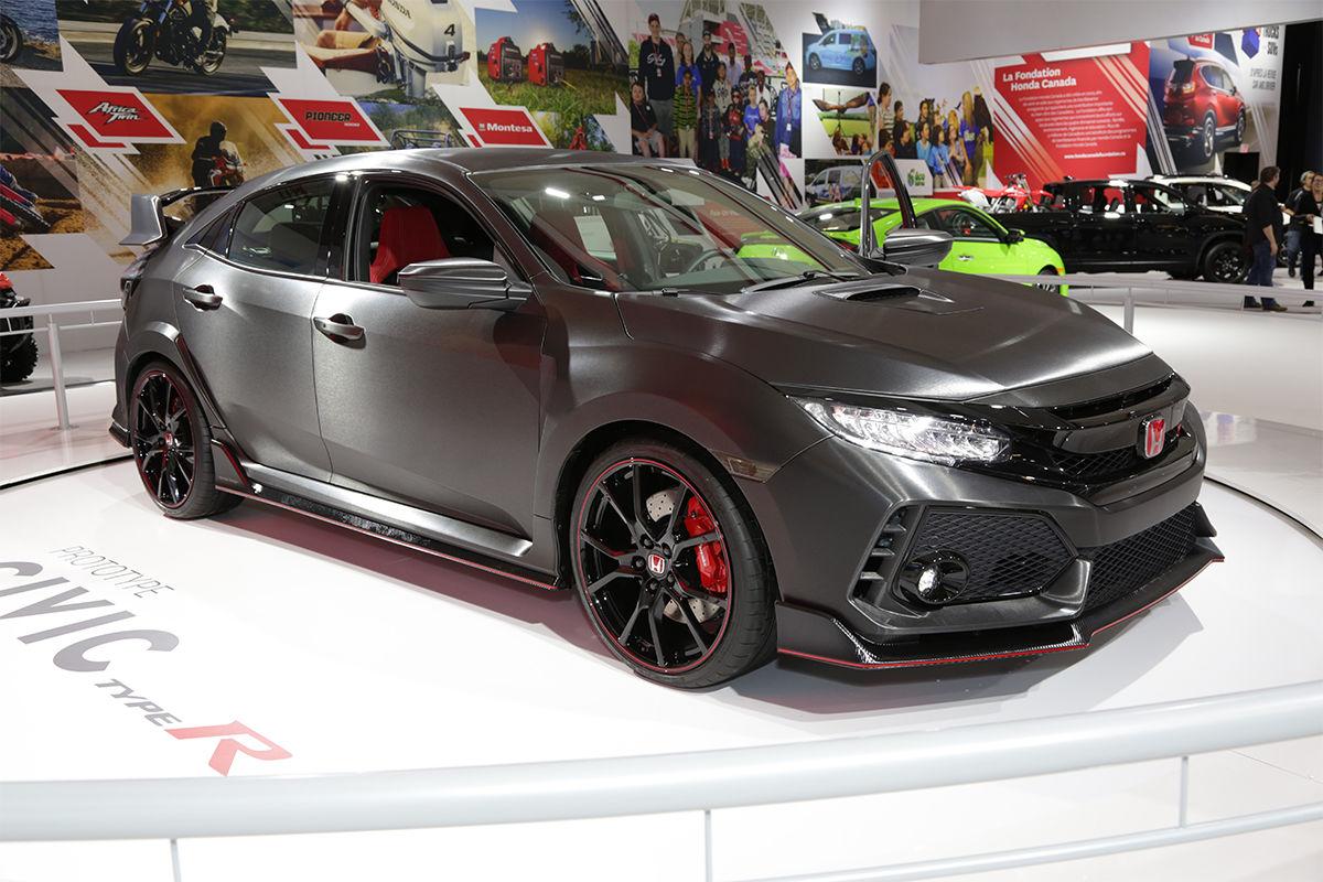 Salon de Montreal Honda Type R - Hamel Honda