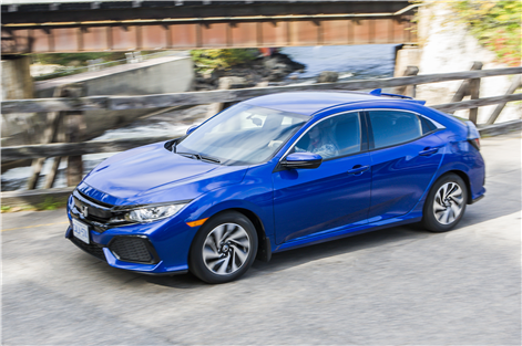 Honda Civic Hatchback 2017 - hamel honda
