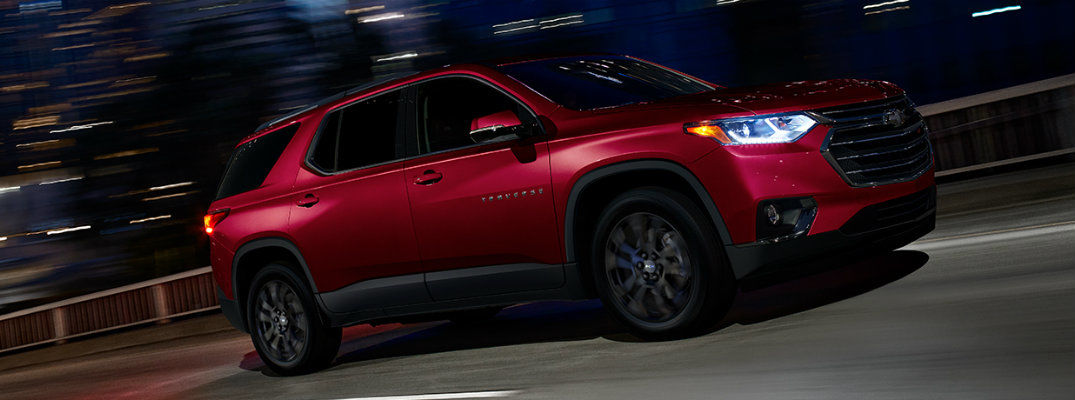 2019 Chevy Traverse - Traverse on road