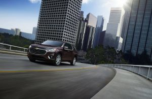 2019 Chevy Traverse Engine Performance - 2019 Chevy Traverse Driving on Road