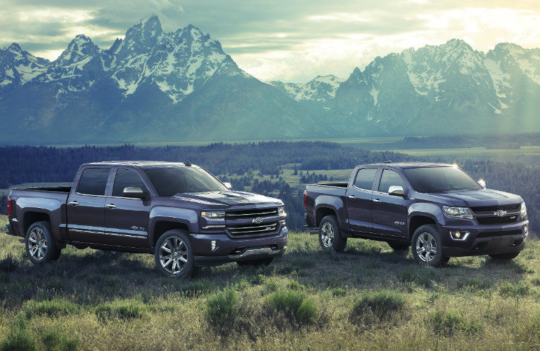 Chevy Truck Legends Program for the 100th anniversary- car in mountains