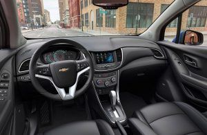 What's Inside the Chevy Trax? - Picture of inside the Chevy Trax