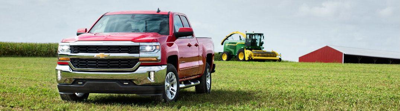 2016 Chevrolet Silverado vs 2017 Chevrolet Silverado - Chevy vehicle on farm
