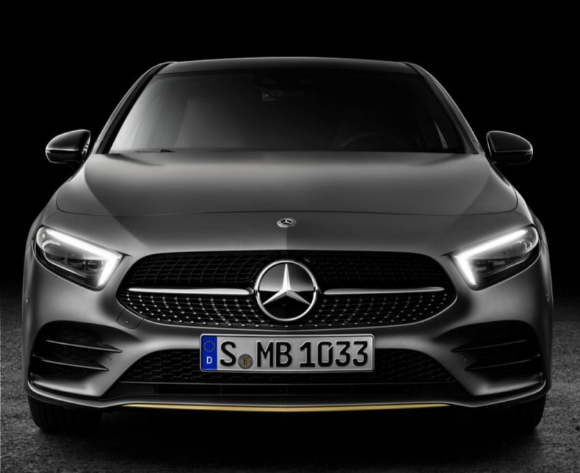2019 Mercedes-Benz A-Class - grey model