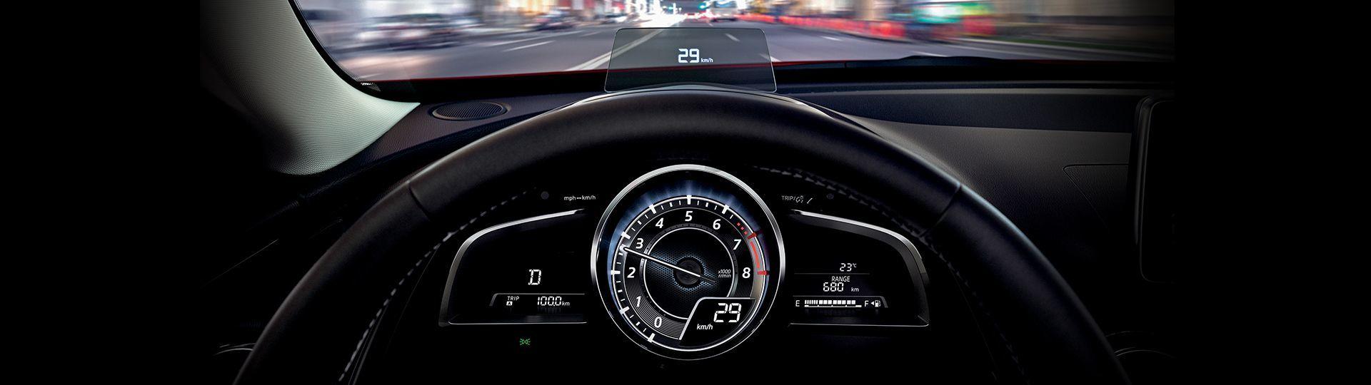 Mazda CX-3 tableau de bord