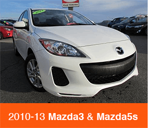 2010-2013 Mazda3 and Mazda5