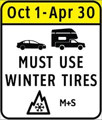 british columbia winter tire requirement