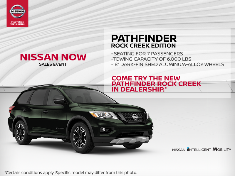 Get the 2019 Pathfinder today! - Valleyfield Nissan