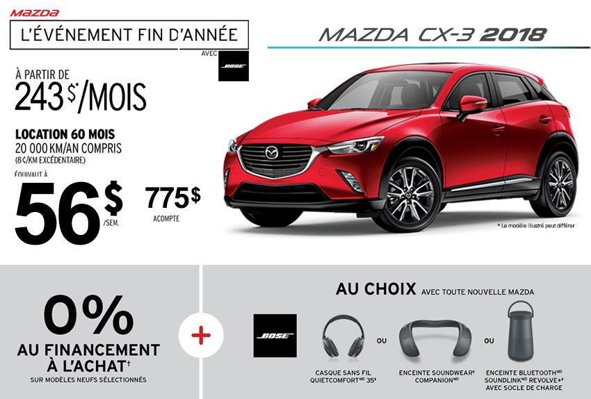 2018 Mazda Cx 3 Promotion Longueuil Mazda Promotion In