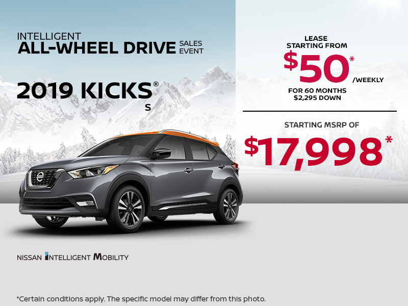 Introducing The Kicks Yarmouth Nissan Promotion In Yarmouth