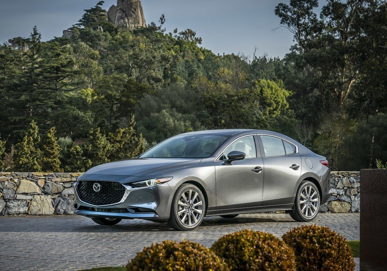 2019 Mazda3 Sedan Has New Safety Features