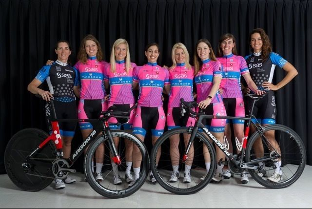 Planète Mazda and Te Best Women Cyclists in Quebec