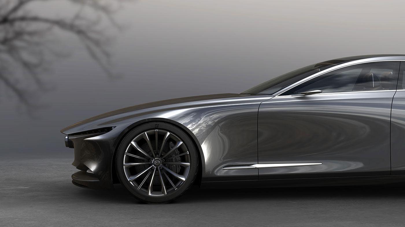 Mazda Unveils Vision Coupe