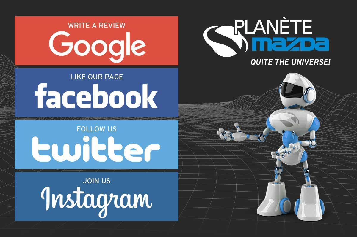 Planète Mazda on Social Media