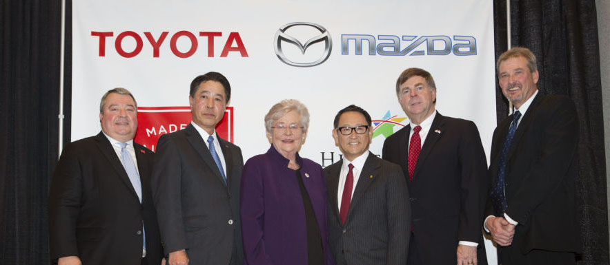 Mazda and Toyota Joint-Venture Company