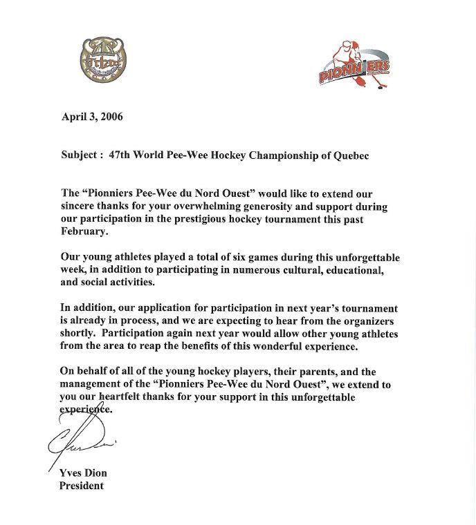 47ième World Pee-Wee Championnat de Hockey