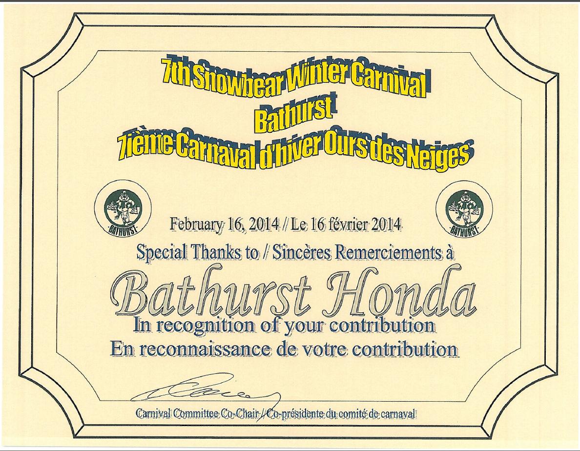 Parc Coronation Bathurst inc.