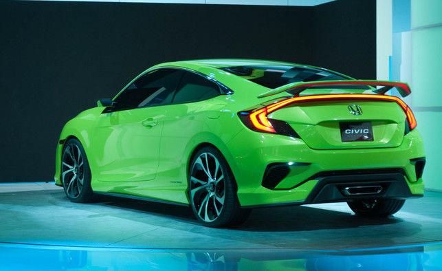 2016 Honda Civic - Showing its teeth and growling