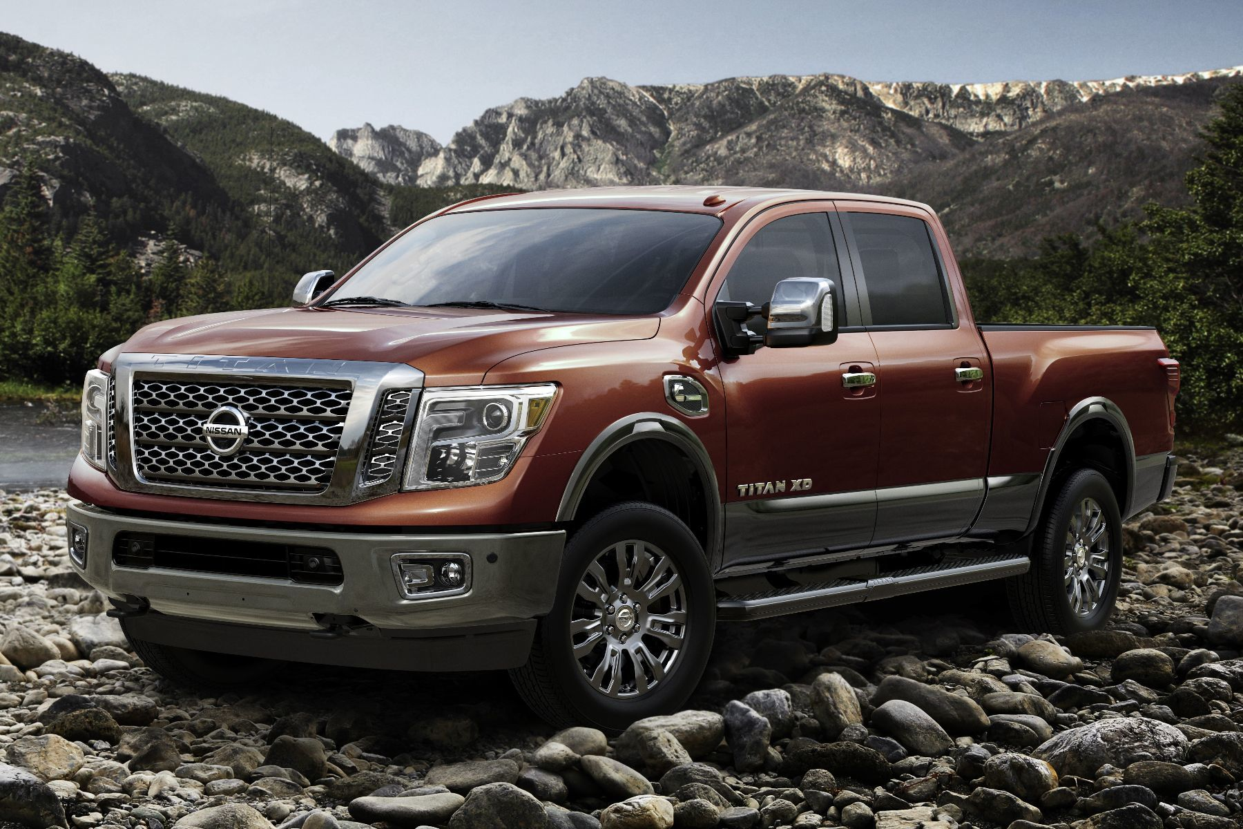 2016 Nissan TITAN XD | Shoulders of Giants