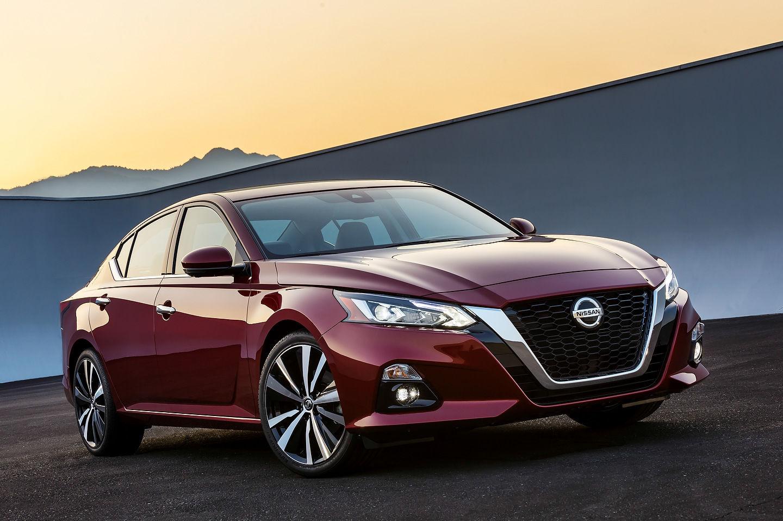 Un coup d'œil aux essais de la nouvelle Nissan Altima 2019