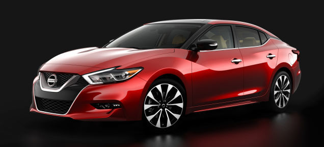 Introducing the new 2016 Nissan Maxima