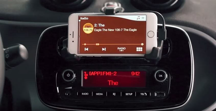 How-to the smart fortwo – Infotainment.