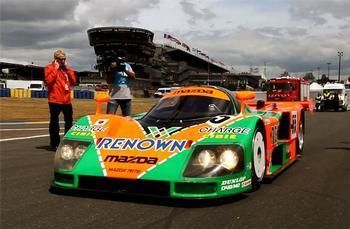 The Mazda 787B Visit LeMans 20 years later
